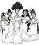 Muses by harishasart