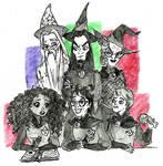 Potter Gang by harishasart