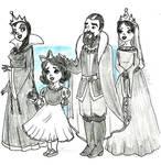 Snow Family by harishasart