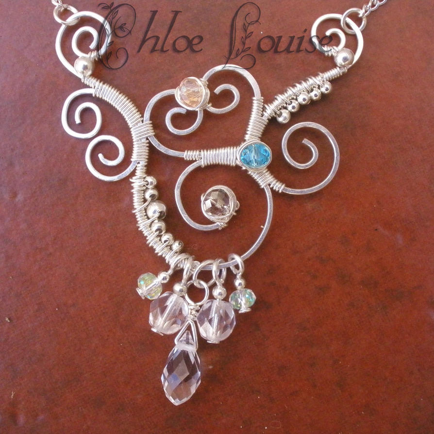 how to make a necklace chain with wire