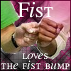 Fist-bump by glomdi