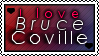 Bruce Coville Stamp by glomdi