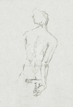 Sketch from Life Drawing class
