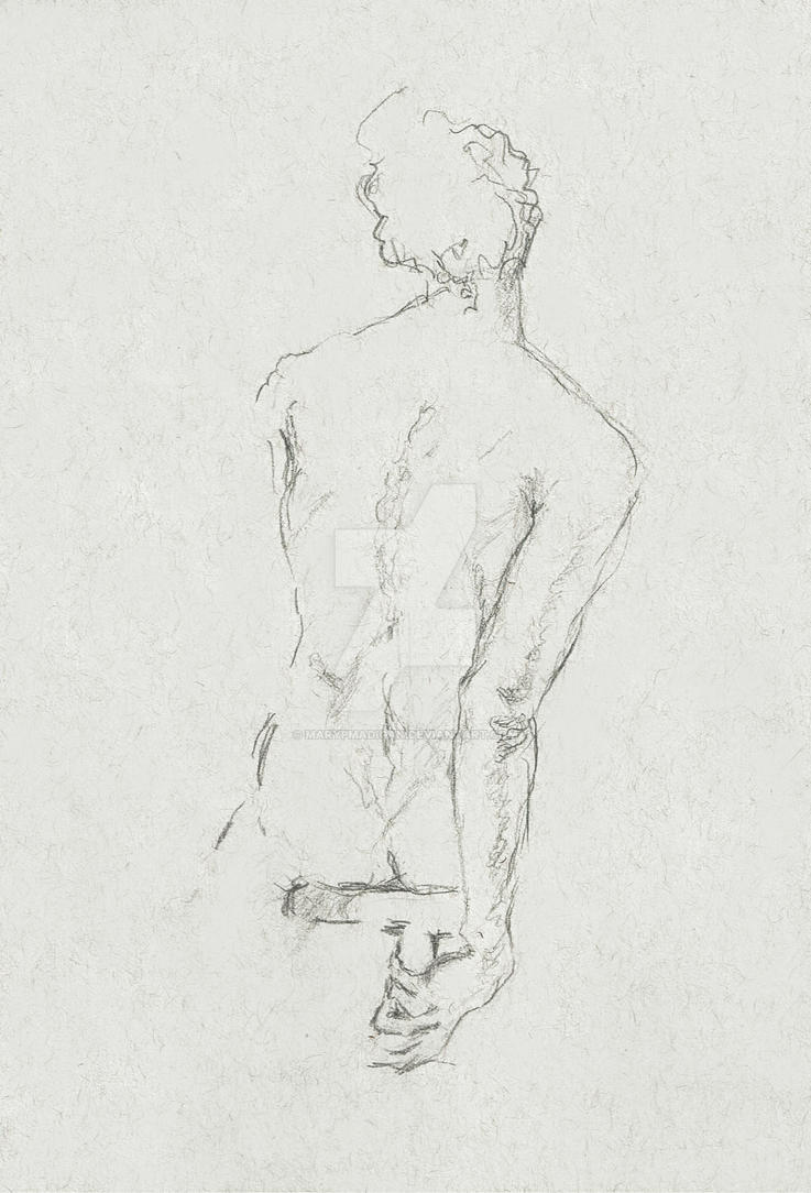 Sketch from Life Drawing class by marypmadigan