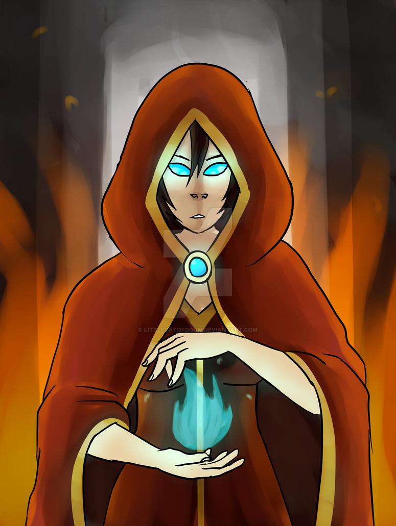 Fire mage by LittleCatOfDoom