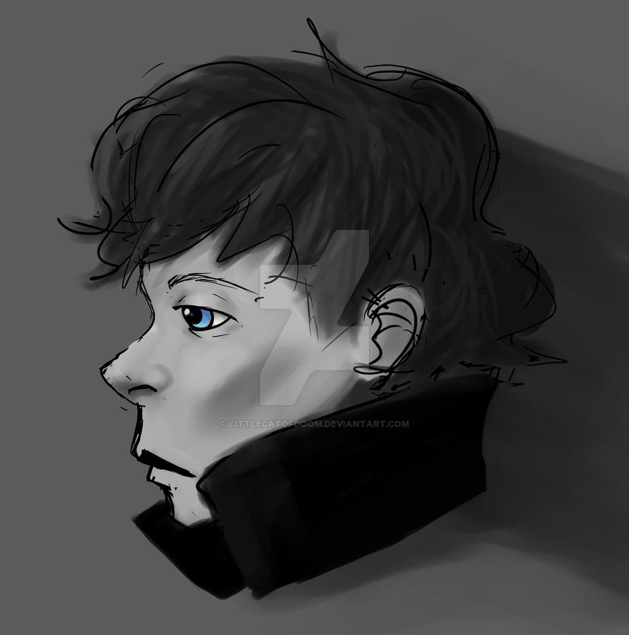 Sherlock holmes by LittleCatOfDoom