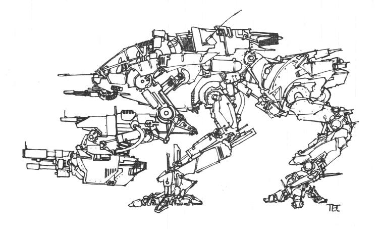 mech - bare bones by shadowharbinger