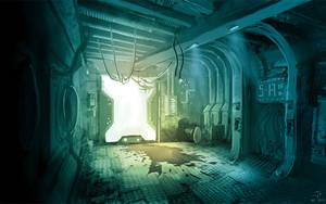USG Ishimura - Corridor by Jack-Burton25