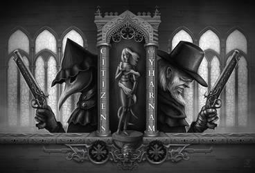 Bloodborne - Citizens of Yharnam by Jack-Burton25