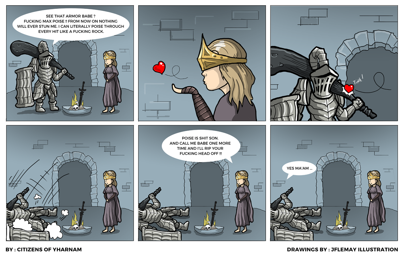 Dark Souls 3 Poise
