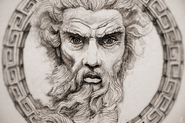 Zeus, God of the Sky - Study by Jack-Burton25