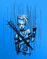 Metal AF - Sketchy sketch by Jack-Burton25