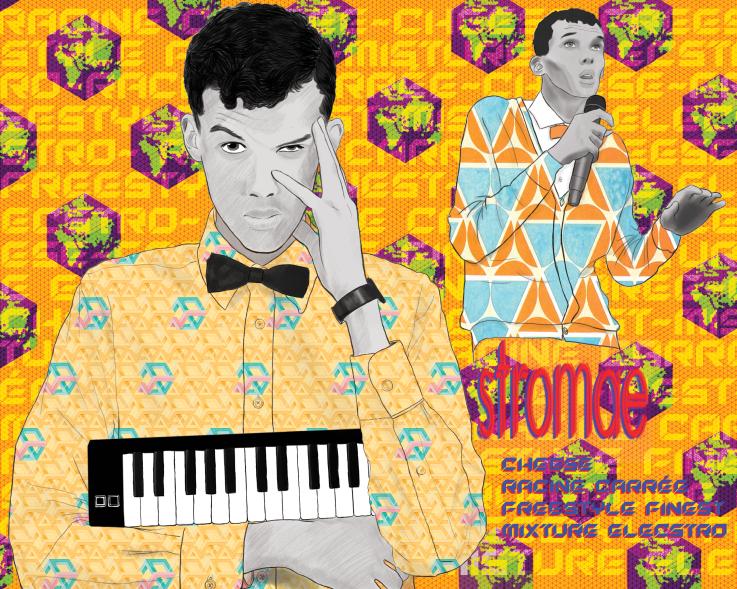 musician poster stromae by digital ren on deviantart