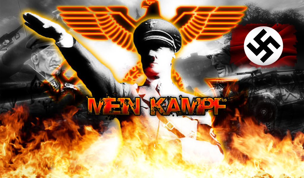 Adolf Hitler Wallpaper: Wallpaper Mein Kampf [Adolf Hitler] By Rabid-Angel
