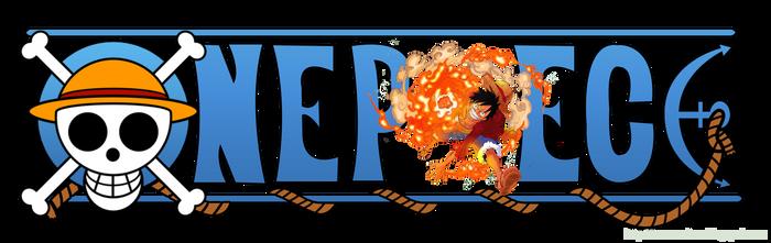 One Piece Logo - Monkey D. Luffy 02
