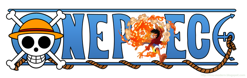 One Piece Logo - Monkey D. Luffy 02