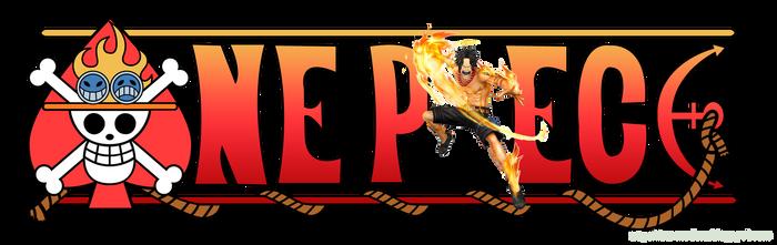 One Piece Logo - Portgas D. Ace