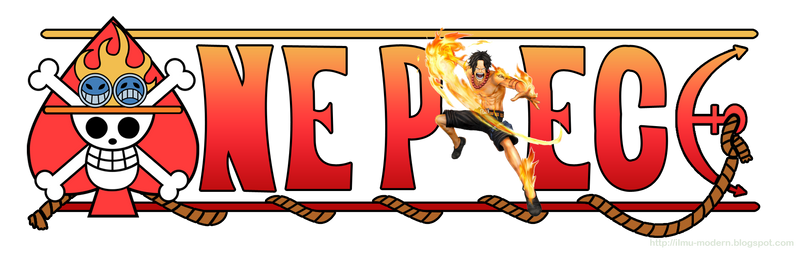 One Piece Logo - Portgas D. Ace