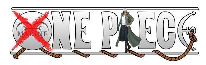 One Piece Logo - Aokiji (Kuzan) [out marine]