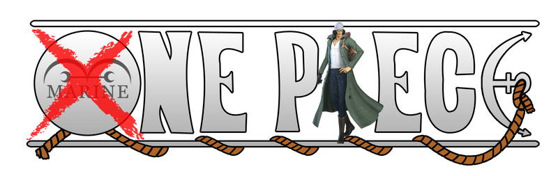 One Piece Logo - Aokiji (Kuzan) [out marine]