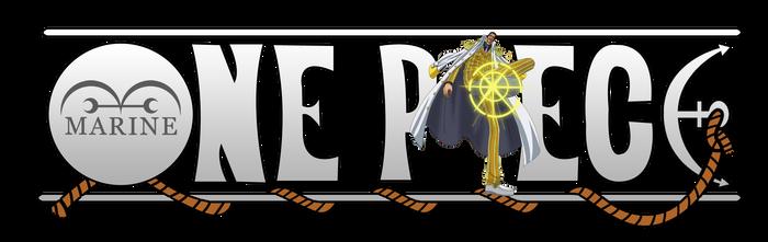 One Piece Logo - Admiral Kizaru (Borsalino)