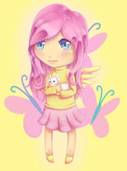 Re: Fluttershy Gijinka by Lightstar98
