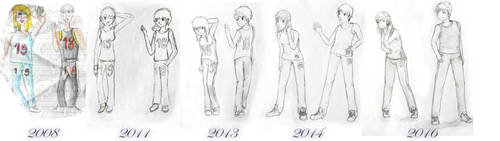 Draw this again - 8 years