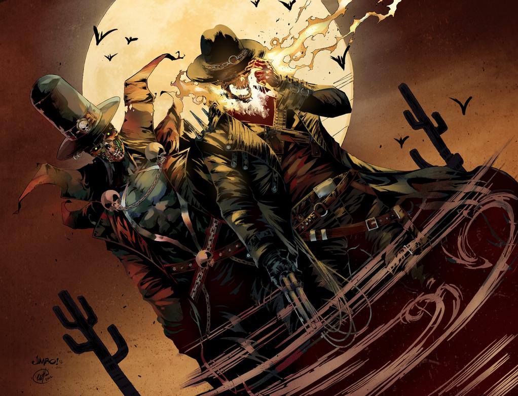 Wild West Spawn + Ghost Rider by HaphazardMachine on ...
