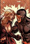 Dark Xmen Cyclops vs Emma Frost