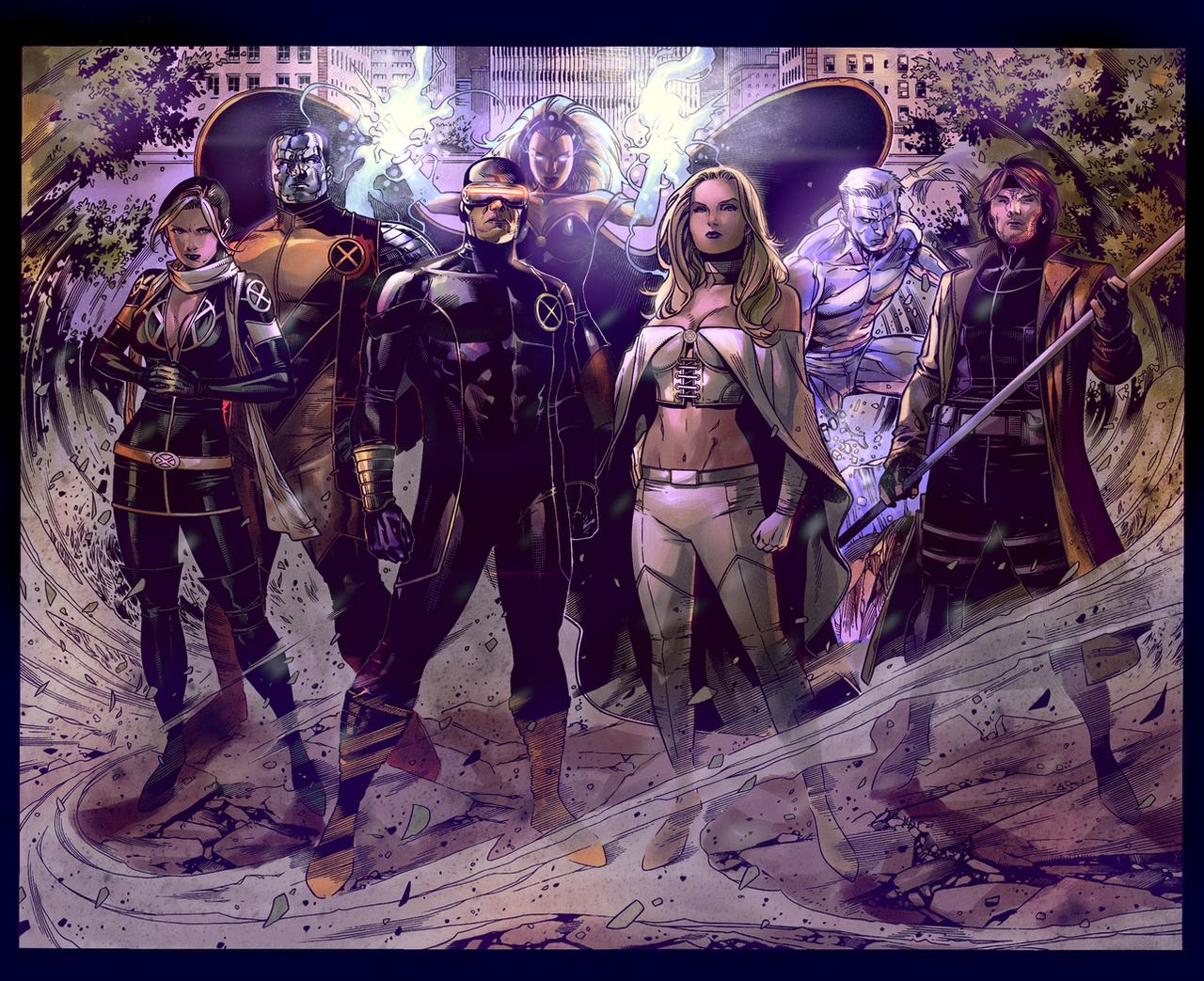 X-Men by HaphazardMachine