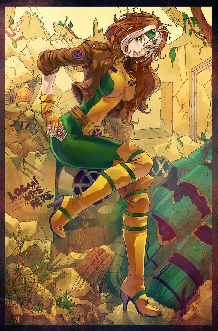 Anime Rogue by HaphazardMachine