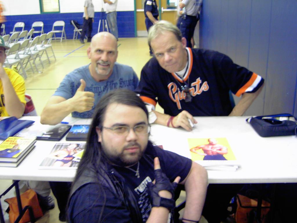 David Lee Rock, Nikita Koloff, And Lex Luger By