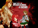 High School of dead Wallpaper
