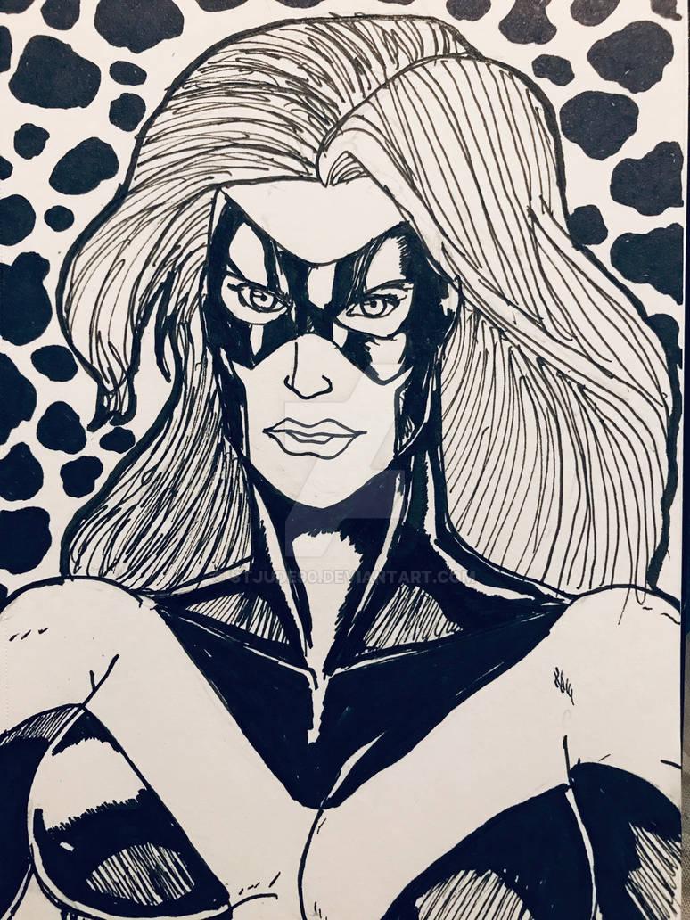 Inktober - Marvel Woman