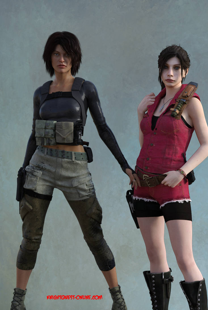 Resident Evil - Alice and Claire