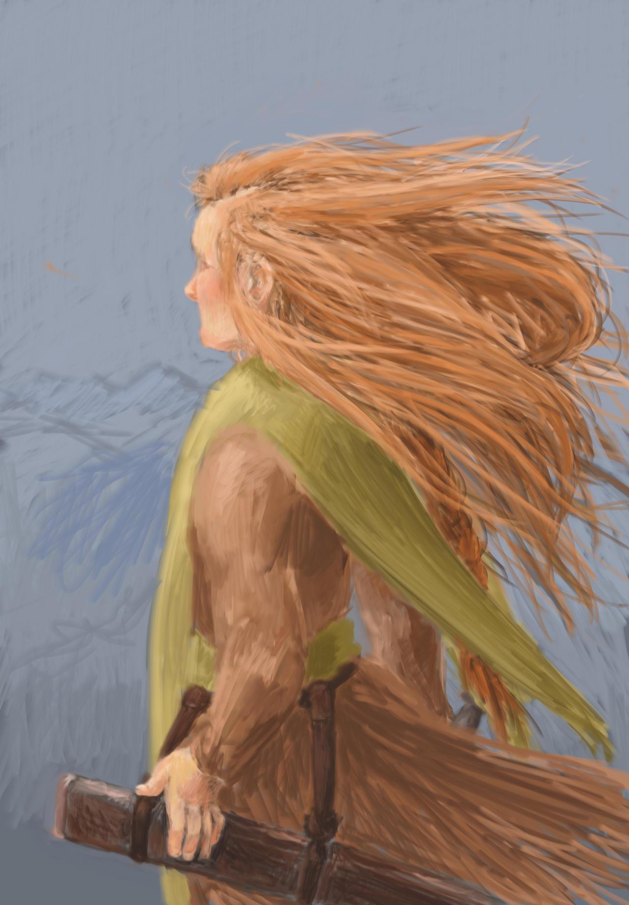Wind that Spreads the Fire WIP by HeatherJohnsen