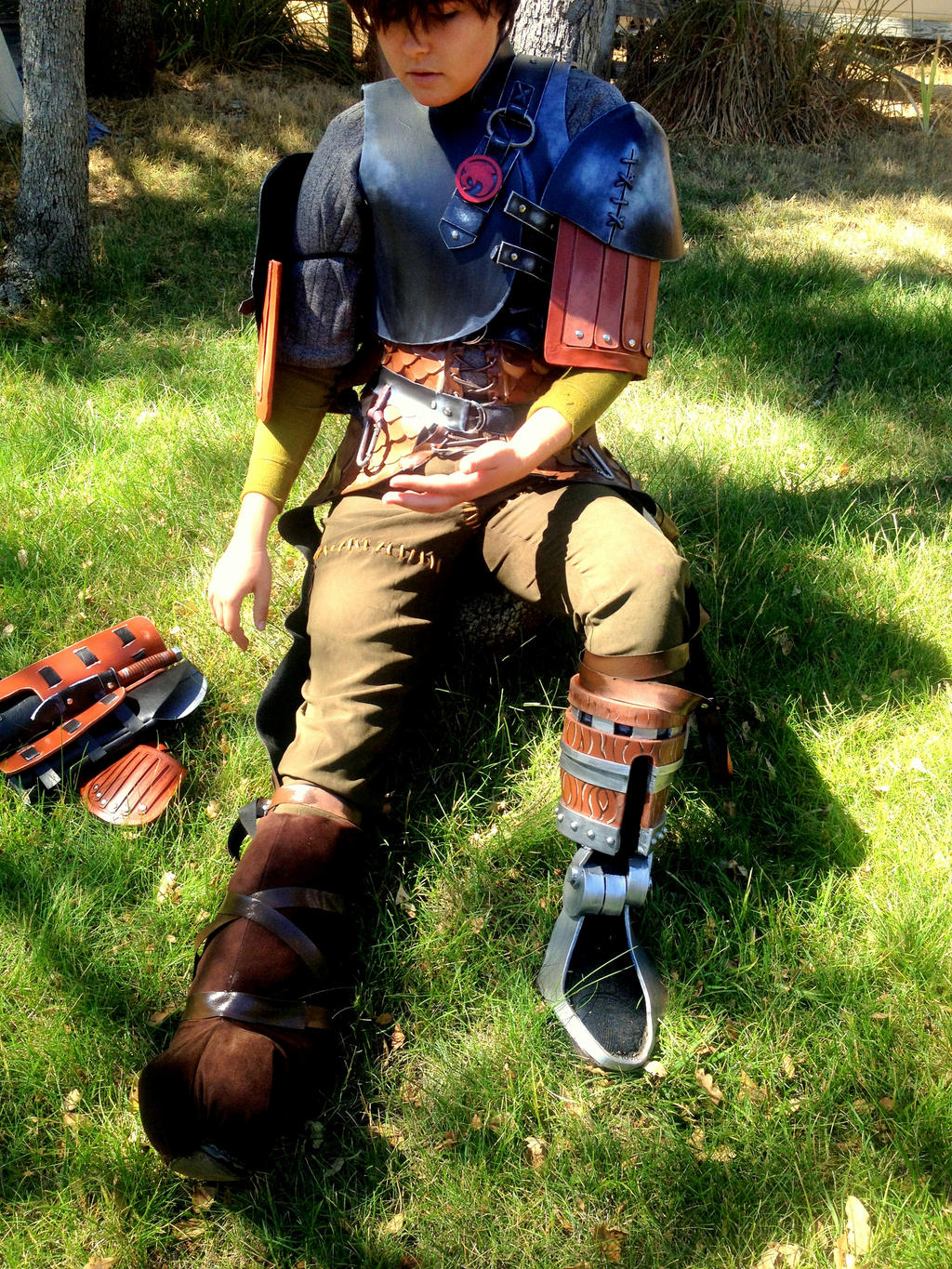 Hiccup Cosplay ~Why is Armor So Heavy?~ by ...