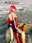 Pyrrha Nikos Cosplay, by Fae from Congress Cosplay