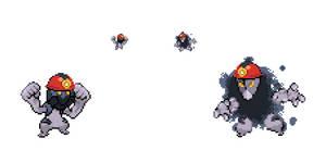 Coal Miner Pokemon