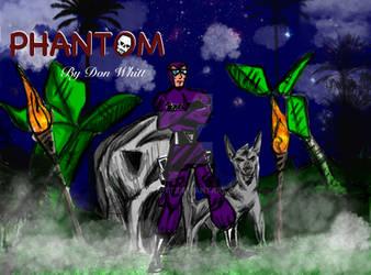 Phantom and Devil his faithful friend.