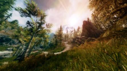 Dreamy Woods by vee-kay