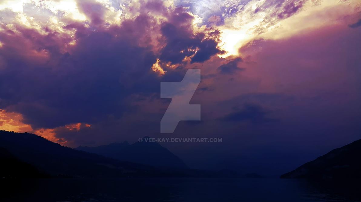 Swiss Lake by vee-kay