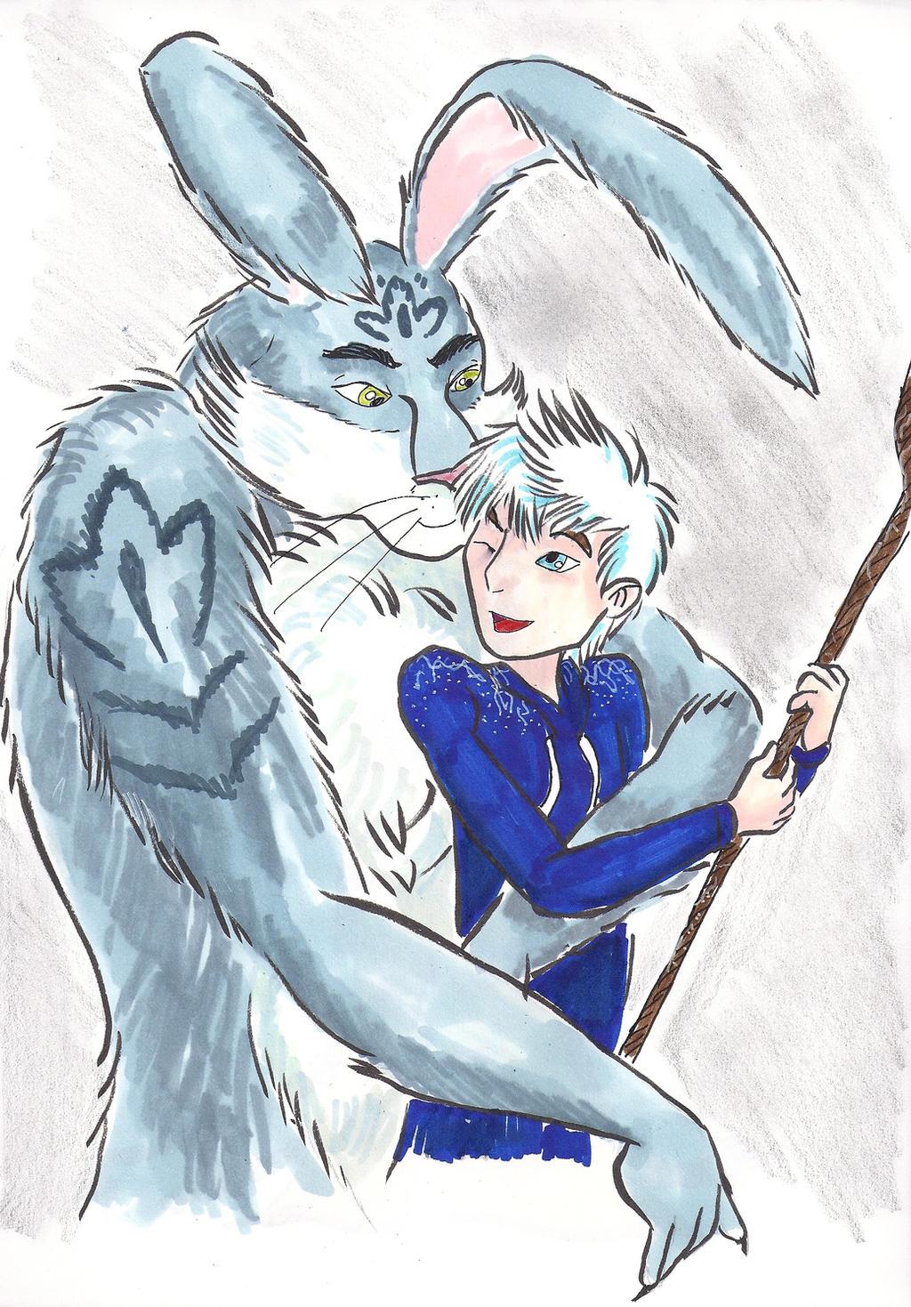 jack frost and bunnymund yaoi - photo #4