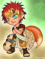 Gaara+Naruto? :::coloured::: by CyanFox3