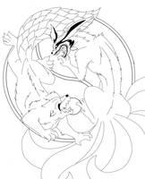 Yin Yang::Ichibi vs Kyuubi