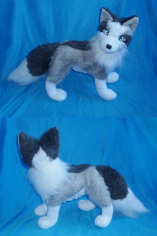 Platinum Fox plush: finished by goiku