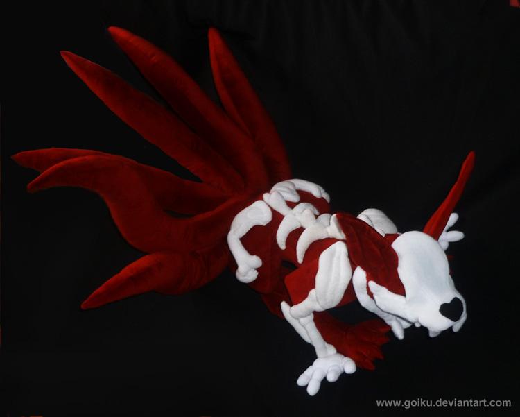6-tailed kyuubi naruto plush: angle 2 by goiku on DeviantArt