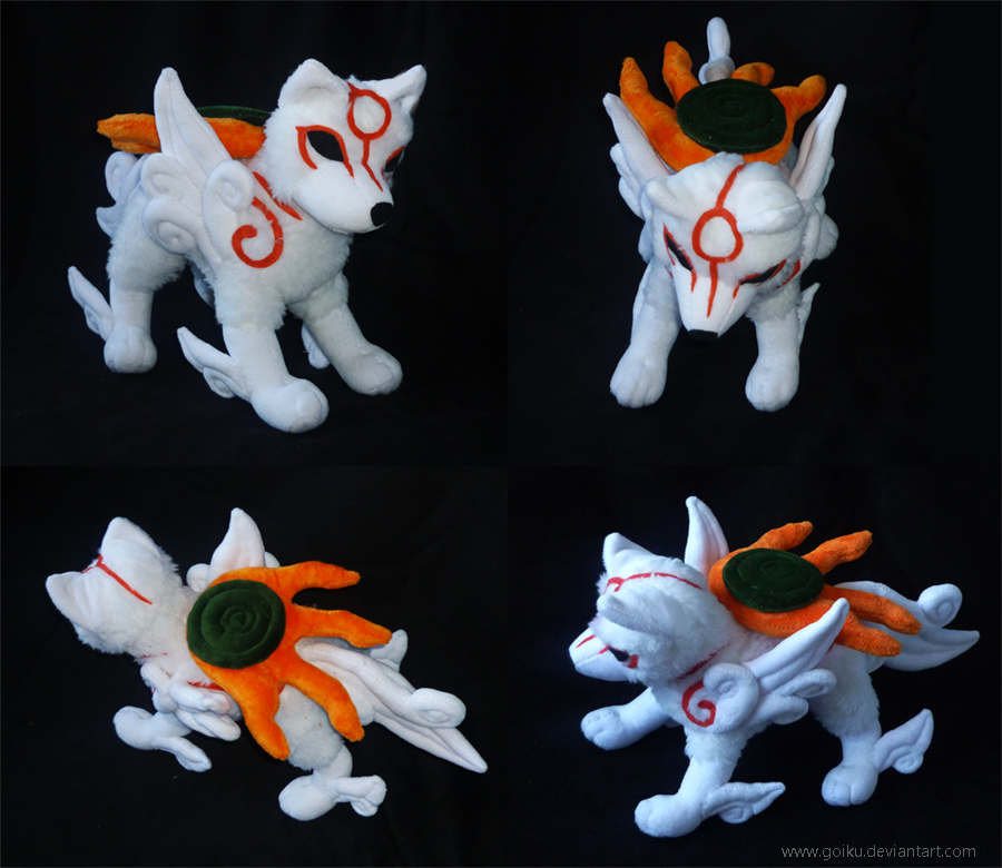 Okami : Amaterasu finished 2 by goiku