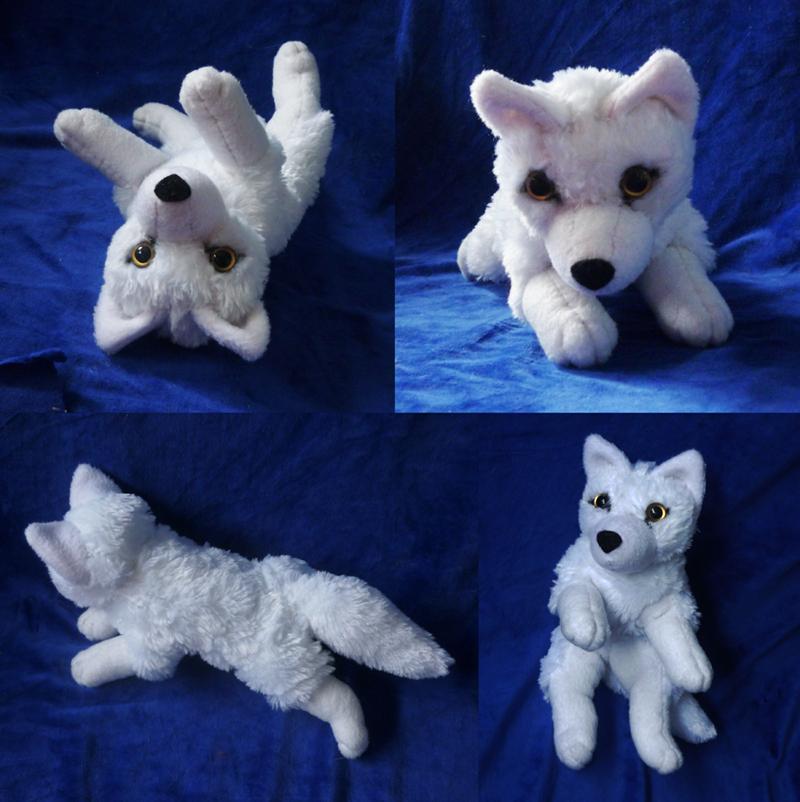 'Lil white wolf: finished 2 by goiku