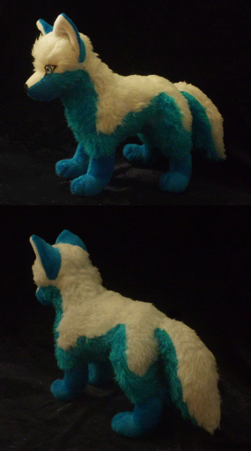 Aqua wolf: finished by goiku
